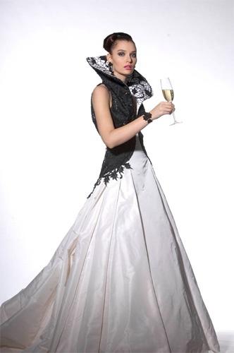 More dramatic wedding dress by Jukka Rintala