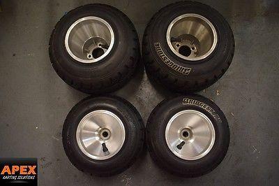 Go kart rims bridgestone wet #tyres, intrepid, #rotax, maranello, #gillard,,  View more on the LINK: http://www.zeppy.io/product/gb/2/222399986440/
