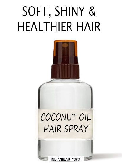 Coconut provides nourishment to hair root while strengthening them.