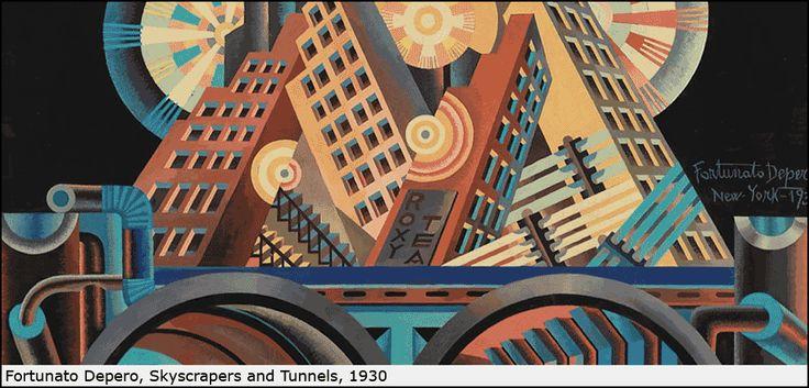 """Italian Futurism, 1909-1944: Reconstructing the Universe"", February 21-September 1, 2014"