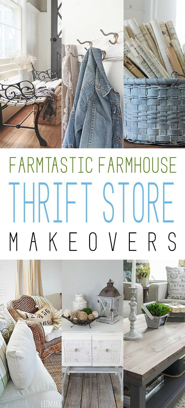 Farmtastic Farmhouse Thrift Store Makeovers Page