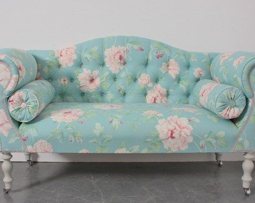 small 2 seater sofa hand made in the UK