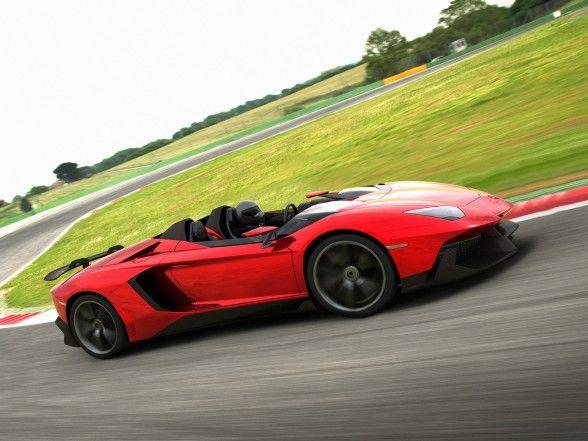 2012 Lamborghini Aventador J U2013 Front Side