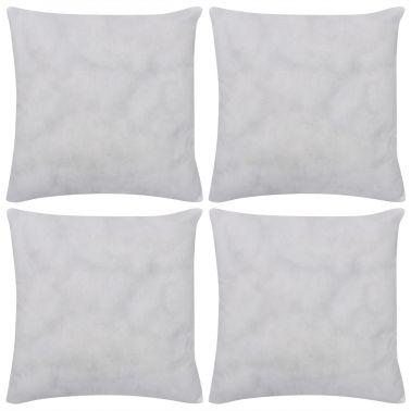 4 Almohadillas blancas no tejidas para relleno cojines, 80 x 80 cm[1/3]