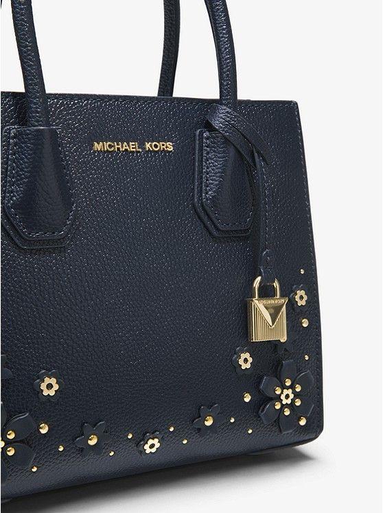 1f265a55d60c2 Mercer Floral Embellished Leather Crossbody Pebbled Leather