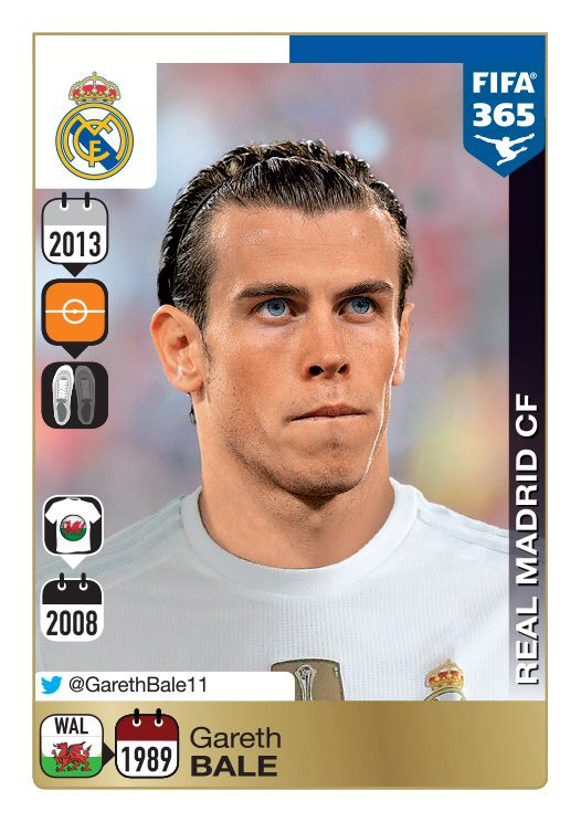 Panini 365 gold sticker