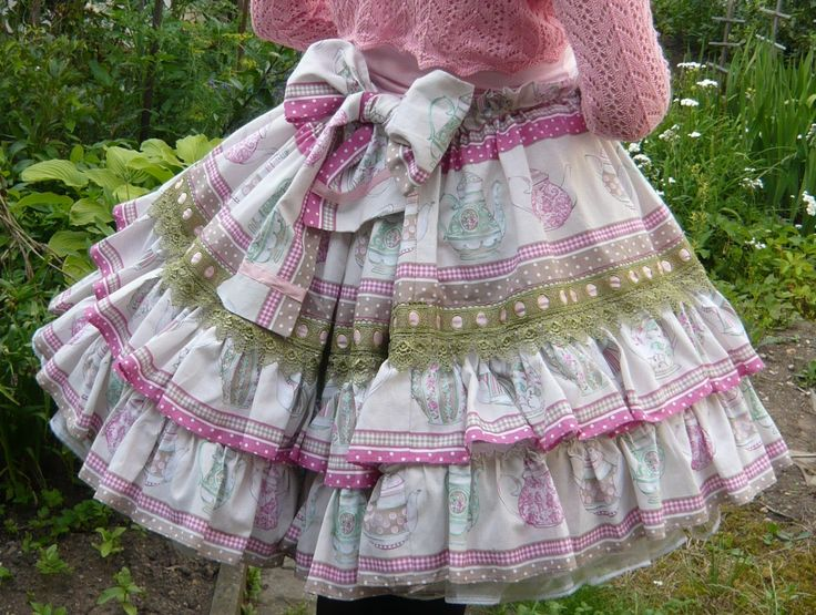 For sale: Teapot Skirt http://egl.lacemarket.us/auctions/alices-tea-party-skirt