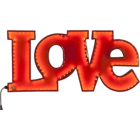 KARE Austria - Geschenkideen zum Muttertag - Leuchtobjekt Love Red LED #kareaustria #kare #design #karewien #liebe #love #lampe #muttertag #mothersday #mutter #mama
