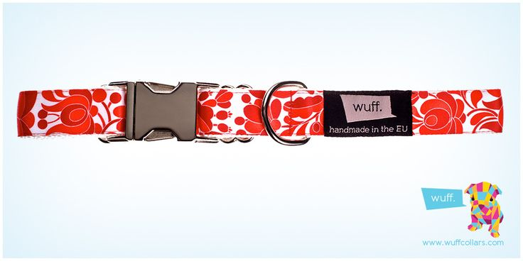 Wuff Hungarian Classic Dog Collar -  Style, elegance, refinement and tradition. The Hungarian Classic is one of our most beautiful patterns. http://www.wuffcollars.com/en/item/Hungarian_Classic_Collar-105 Item Code: 105