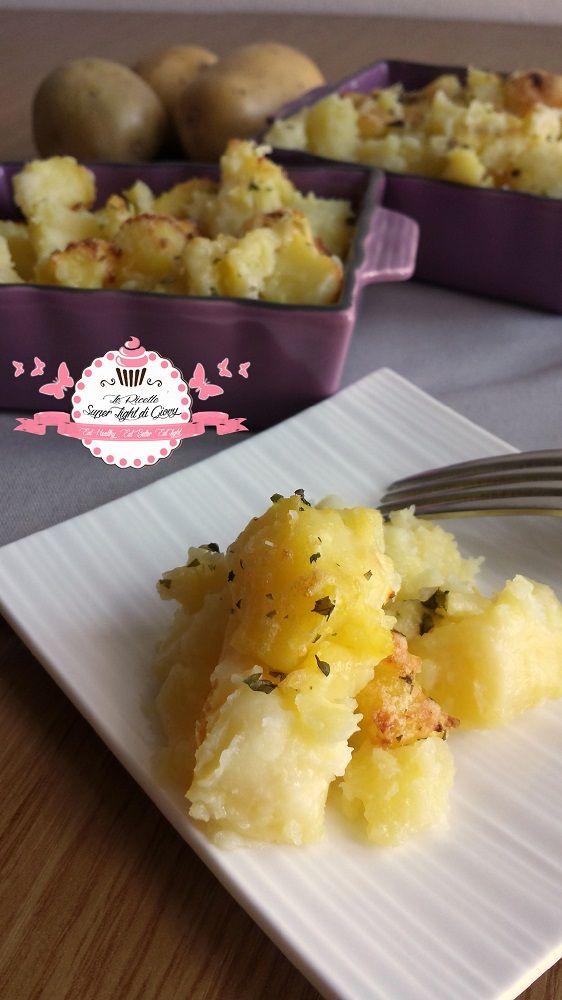 Patate al forno light – con grana (290 calorie) | Le Ricette Super Light Di Giovi