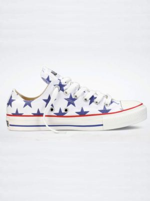 4th Of July Chuck Taylors // the cutest