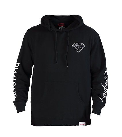 DIAMOND SUPPLY COMPANY DIAMOND EVERYTHING PULLOVER HOODIE-gJNZsvPz