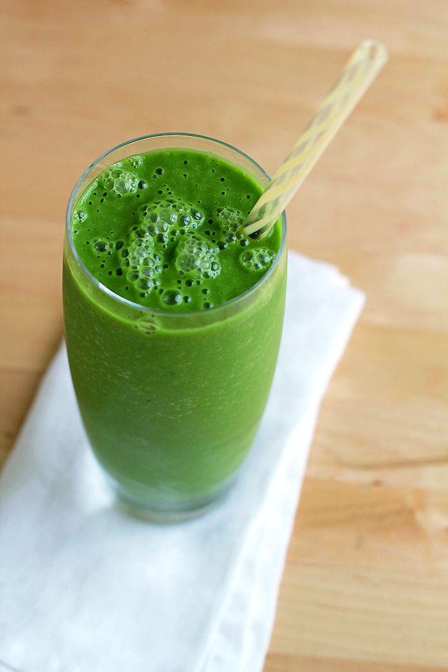 Fruit-Free Green Smoothie
