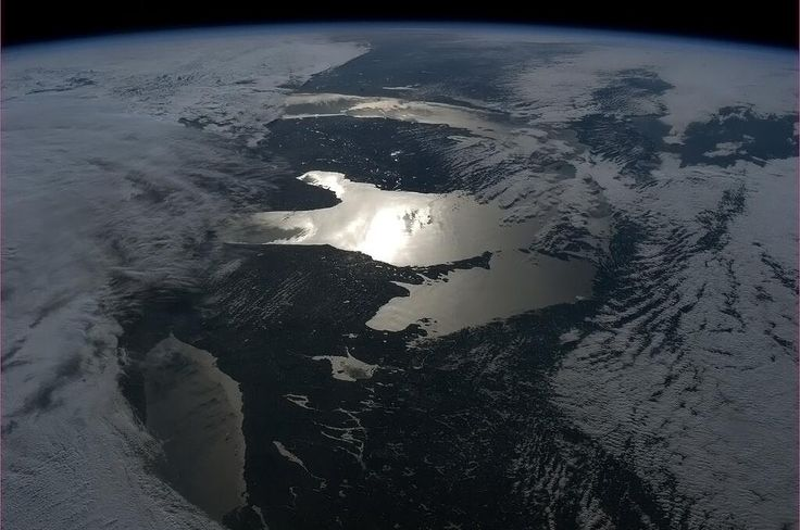 Twitter / Cmdr_Hadfield: Unusual perspective of the ...