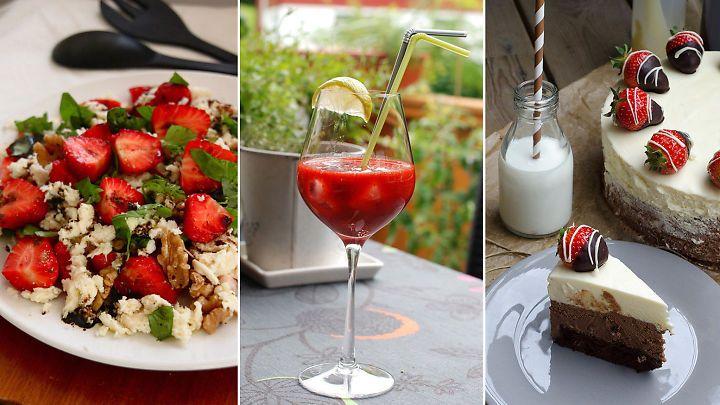 Åtte forfriskende oppskrifter med jordbær