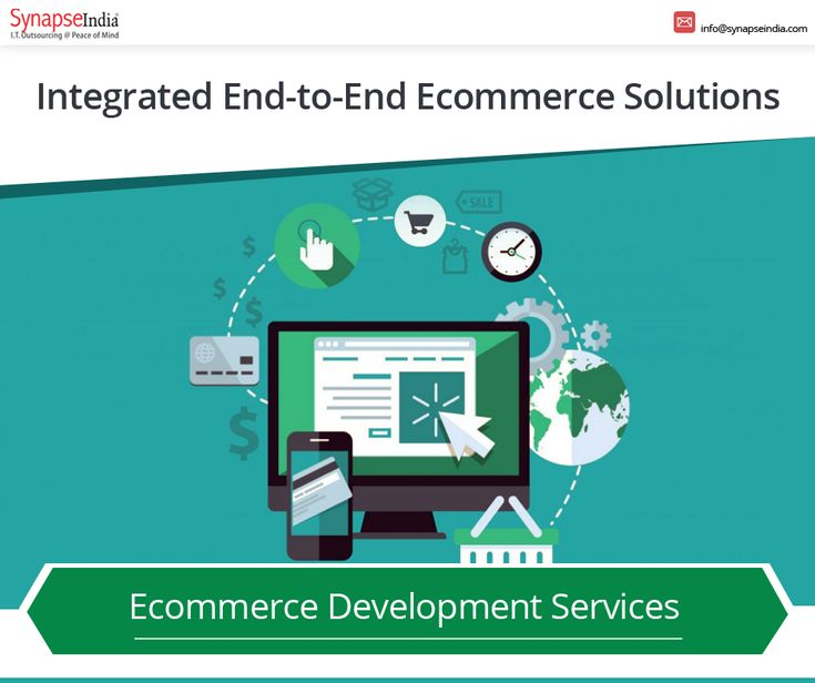Get advanced end-to-end eCommerce solutions to manage the diverse needs of your online store business. Check out the details of our wide range of eCommerce development services.  #SynapseIndia #eCommercedevelopment #eCommercewebdesign