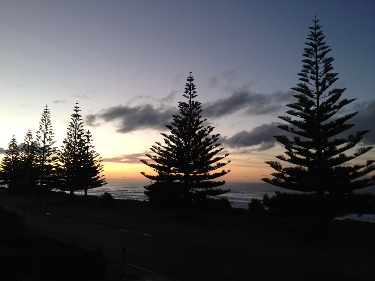 Sunset at Ohope Beach 16/08/12