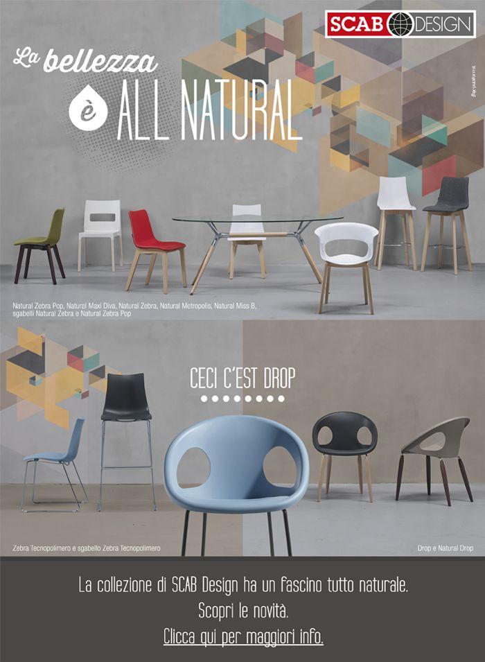 SCAB DESIGN - La bellezza è ALL NATURAL
