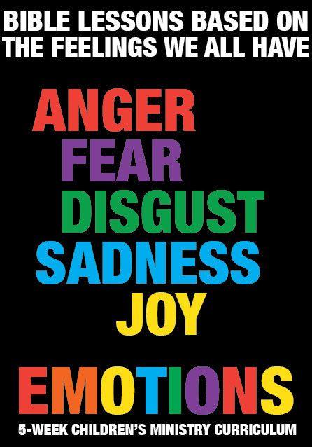 Emotions 5-Week Children's Ministry Curriculum