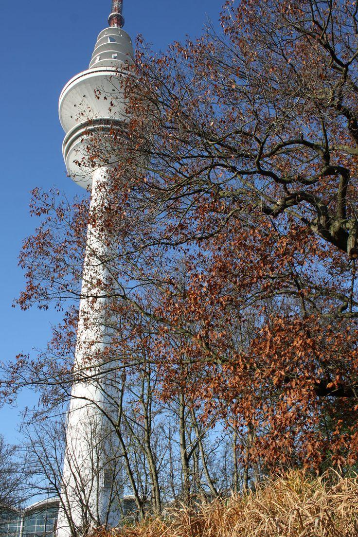 Messe Hamburg, Fernsehturm im November