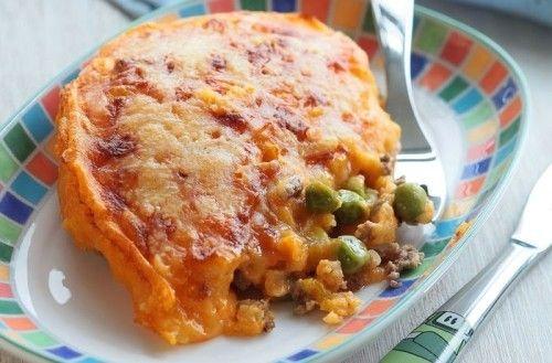 Детский пирог картофельный с индейкой, овощами и курицей. Можно только начинку, без картошки