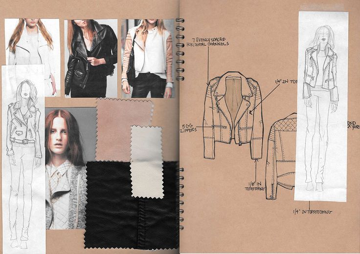 Fashion Sketchbook - fashion sketches & research; creative process; fashion portfolio // Alexandra Canter