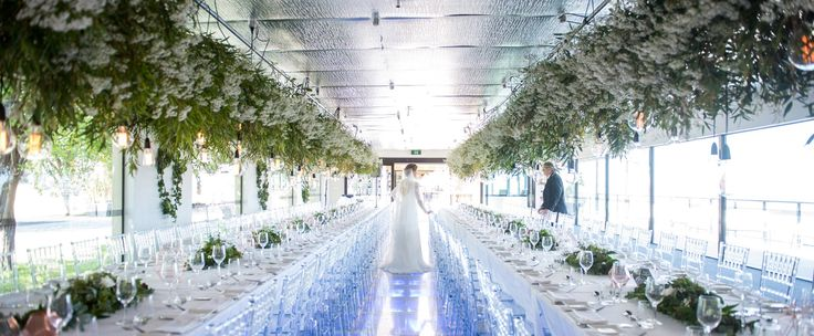 Amazing wedding set at Glen Albyn Estate styled by Bernadette 2 x 25m length overhang on each table, with industrial syle throughout....just magically ...WOW