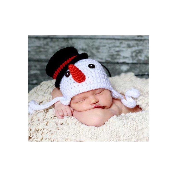 http://babymaniashop.com/hat-kupluk/1577-crochet-snowman-hat.html
