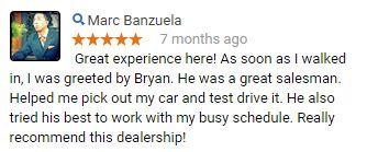 Marc, we appreciate your feedback!  #CustomerService #LundgrenHondaofAuburn