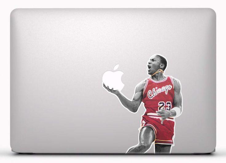 Pegatinas: Michael Jordan Vinilo, pegatina, adhesivo para portátil, Mac, o Macbook. #vinilosportatil  #vinilosmac #vinilosmacbook