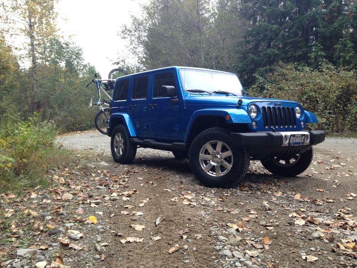 My new Hydro Blue Jeep Wrangler Jeep wrangler sahara