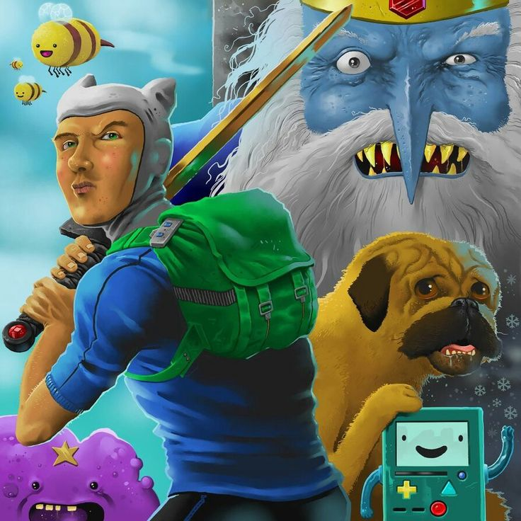 Adventure Time re-imagined.