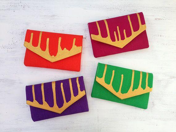 Regali di festa nuziale  set di 4 frizioni di MyALaModeBoutique