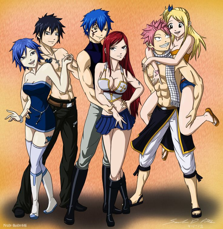 Top 3 Fairy Tail Ships by *Shadow-Hunter446 on deviantART