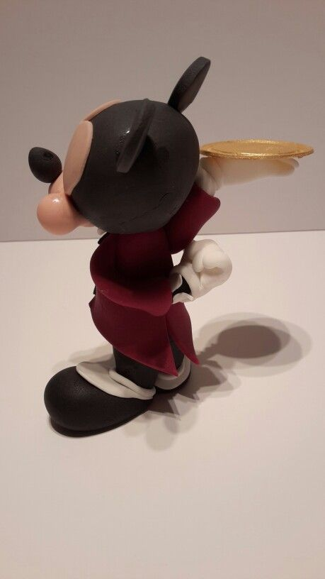 mickey mousse 3d sugar paste