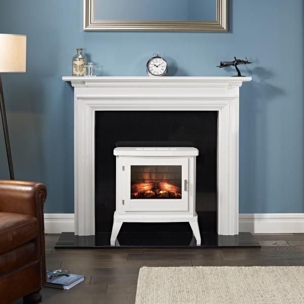 Pin By Wendy Ash On Fireplace Mantel Electric Stove Flueless