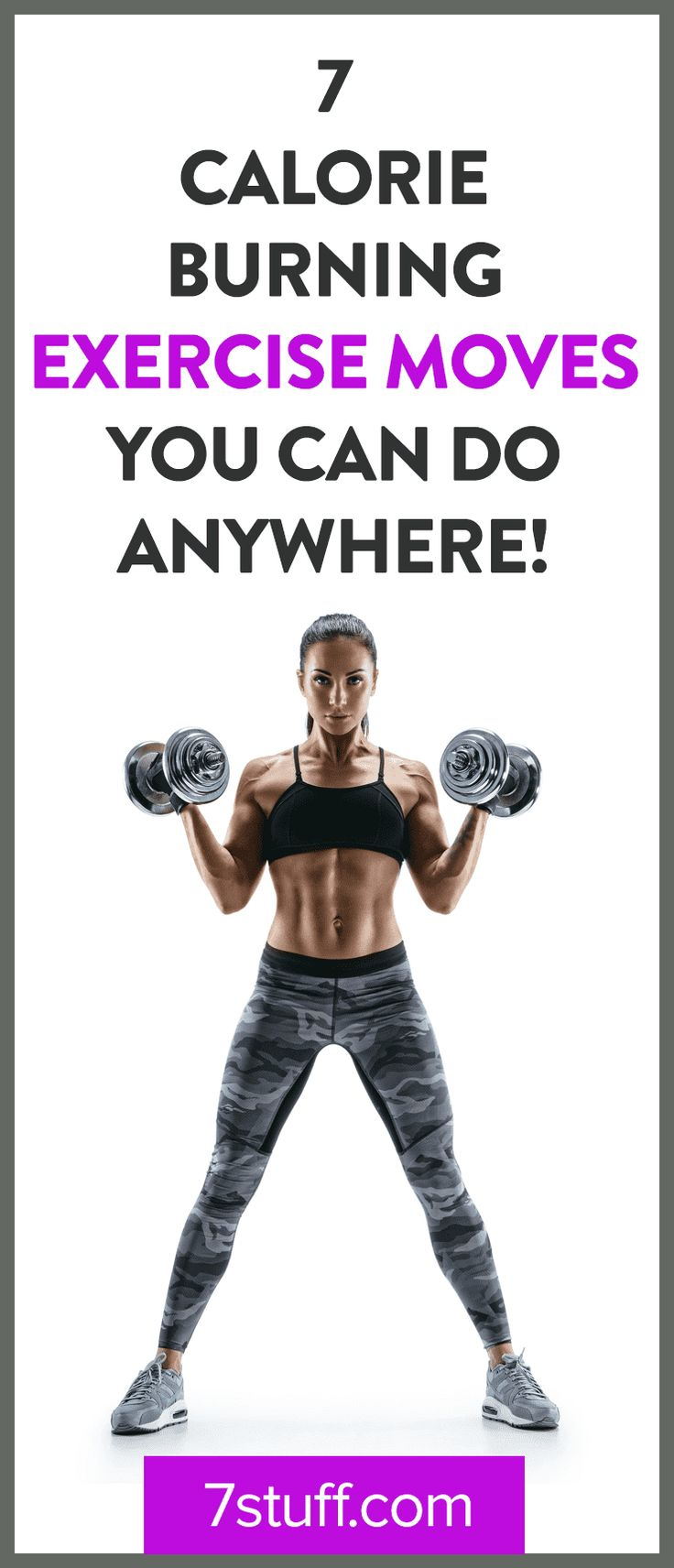 Calorie burning exercises for you