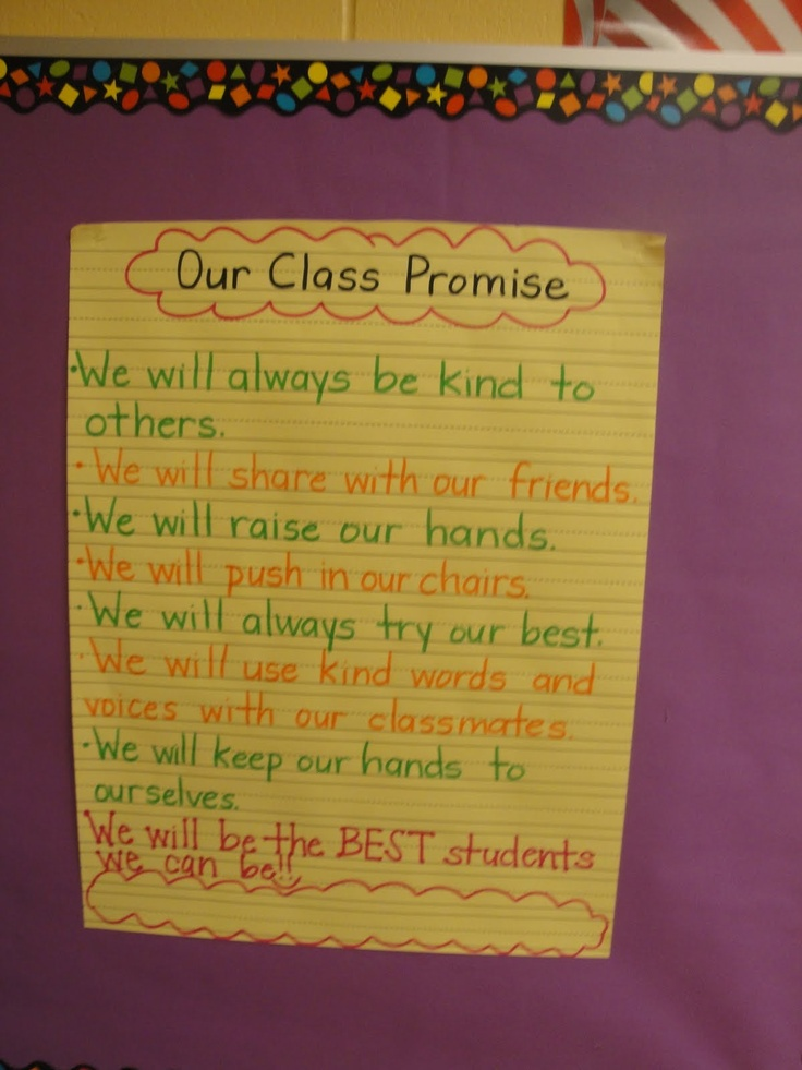 Collaborative Setting Classroom ~ Best class promise ideas on pinterest classroom