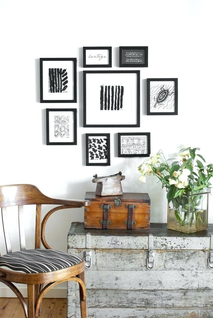 Large Wall Decor Ideas For Living Room Picture Frame Layout Generator Gallery App Frames Best Ha Wall Hanging Arrangements Frames On Wall Picture Frame Designs #photo #wall #ideas #for #living #room