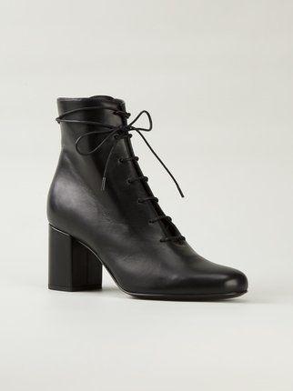 Saint Laurent chunky heel ankle boots