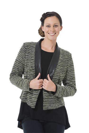 Democracy Tango Jacket www.sassys.co.nz