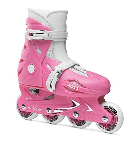 Roces Orlando III - Patines en línea infantiles rosa rosa Talla:30/35 Para ver mas visita este enlace https://cadaviernes.com/ofertas-de-patines-de-linea/