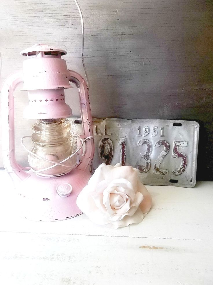 Shabby Pink Lamp. Farm Girl. Upcycled Dietz Railroad Lantern. Glamping Lantern. Pink teal Rustic night light w insulator globe by ShabbyPeonie on Etsy https://www.etsy.com/listing/237787042/shabby-pink-lamp-farm-girl-upcycled