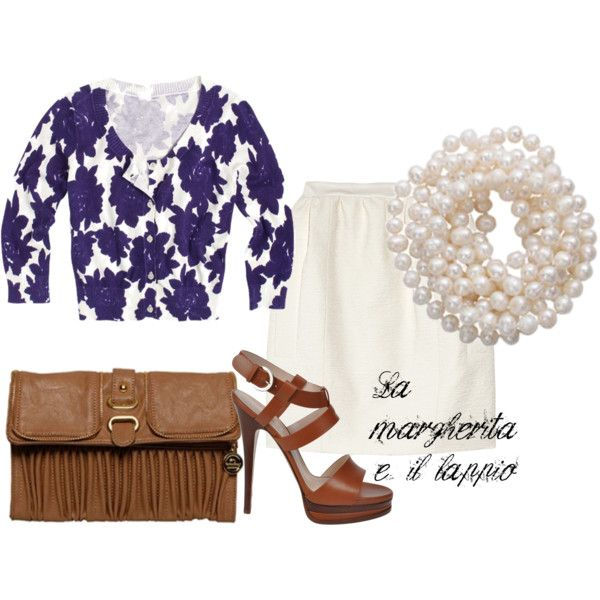 white and blue flower print cardigan - summer outifts