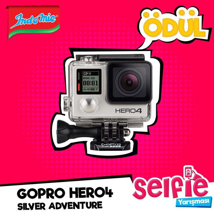 Sende çek bir selfie Gopro Hero 4 Silver Adventure ve daha nice hediyeler kazanma şansı yakala. Indomie noodle ile birlikte selfie'ni çek bu paylaşımın altına 25 Nisan 2016 tarihine kadar çektiğin fotoğrafı yorum olarak ekle. Dilerseniz Instagram üzerinden #indomieselfie hashtag ve @indomie_turkiye ile paylaşabilir veya info@adkoturk.com.tr mail adresine mail olarak isim soyisim bilgileriniz ile selfielerinizi gönderebilirsiniz. Dereceye girecek olan fotoğraflardan biri olma şansını…