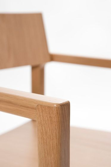 Intro chair with armrests, detail (manufacturer www.inno.fi) design Ari Kanerva (www.arikanerva.com)