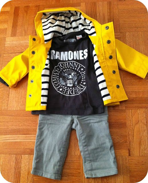 Hipster Baby Boy Outfit