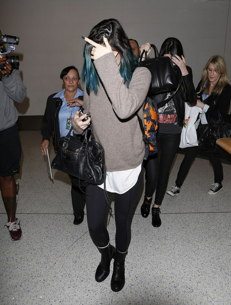June 5, 2014 - Kylie Jenner at LAX