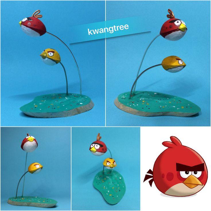 앵그리 은행들...^^ Angry Ginkgo~ #견과류공예 #NutsArt #은행 #银杏 #白果 #GinkgoNut #ぎんなん #철사공예 #와이어아트 #와이어공예 #WireArt #WireCrafts #ワイヤーアート #針金細工 #はりがねさいく #針金 #AngryBirds #앵그리은행 #앵그리징코
