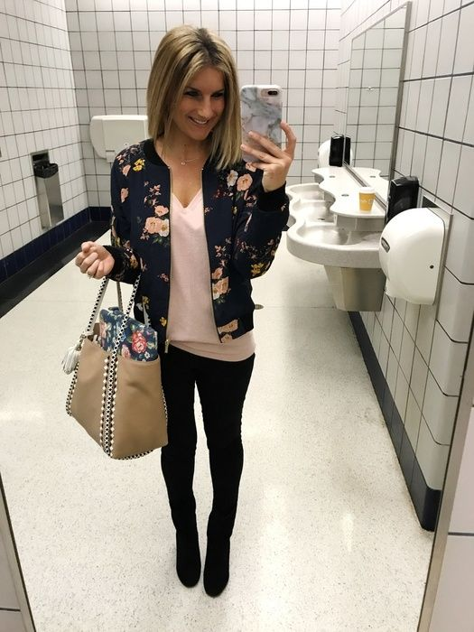 Airport Travel Outfit // Fall Fashion
